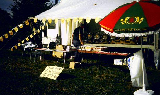 Beer Tent at School Horse Show