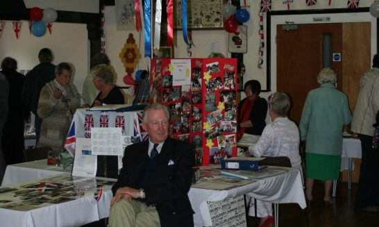 Displays at the Village Exhibition