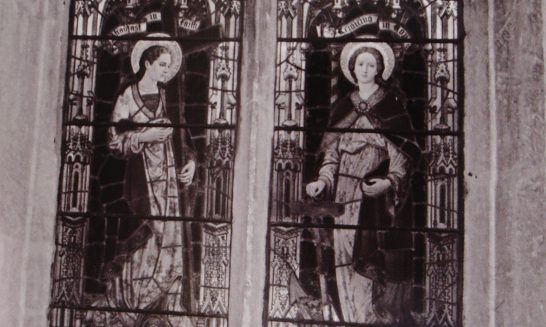 Memorial window,  St Lawrence's Church