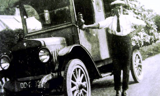 Collett and Hubbard's first lorry