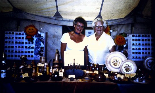 Stall at the Horse Show, 1994