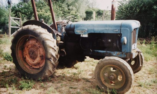 Mr Stowe's Tractor