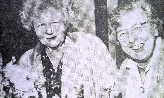Miss Phillips and Mrs Stanley, 1950s
