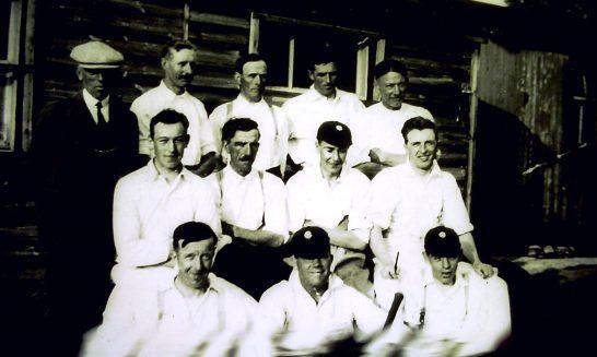 Cricket team - date unknown