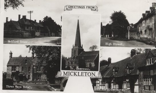 Greetings from Mickleton