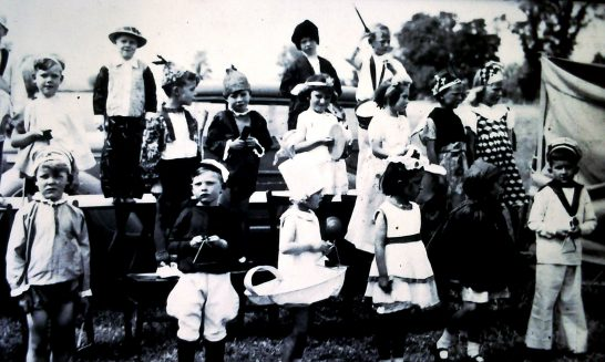 Children in Fancy Dress at Village Fete, late 1940s