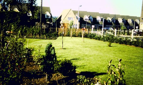 Arbour Close - from the garden of Hoby House