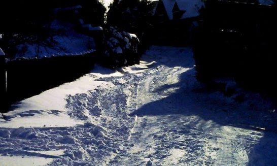Snow in Mill Lane