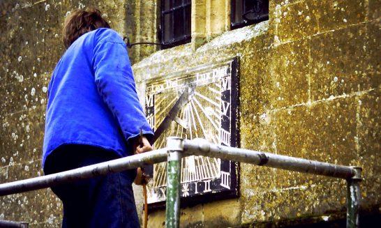 Church Sundial, 1990
