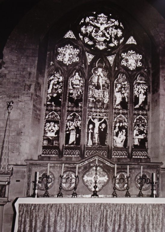 St Lawrence Church East Window   Mickleton Community Archive