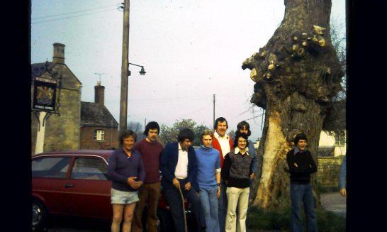 Sponsored walk, June 1976