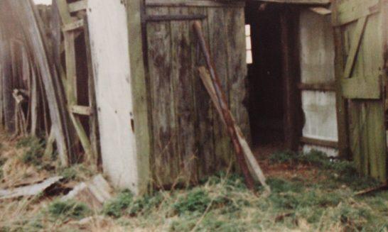 Beggar's Barn: The barn built by the Franklin family
