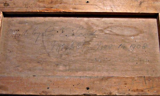 An Old Wooden Panel