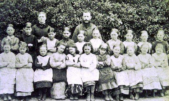 School class - girls
