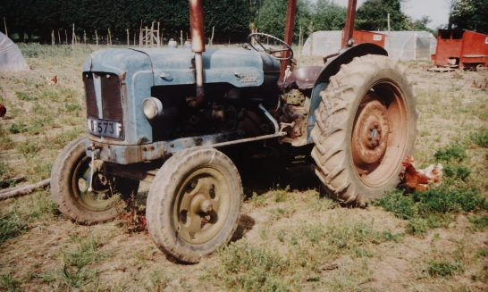 Tractor belonging to Mr M. Stowe