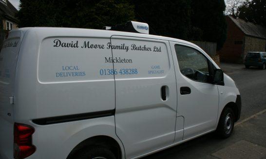 David Moore's Delivery Van
