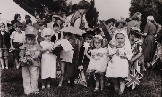 Children's Fancy Dress at Fete