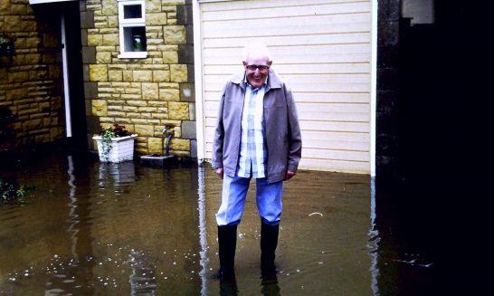 Ballards Close: floods in 1992.