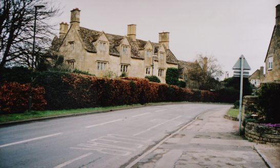 Front of Tudor House