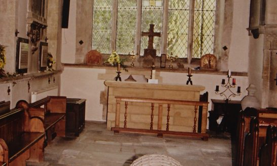 The Requiem Altar, St Lawrence's Church