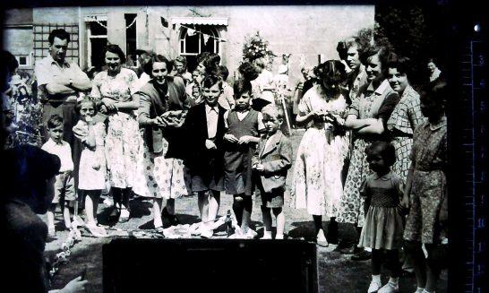 Church Fete, 1955