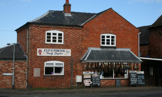 Butcher's Shop - owned by Clive Porter, 2010