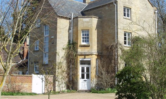 Front of Old Vicarage