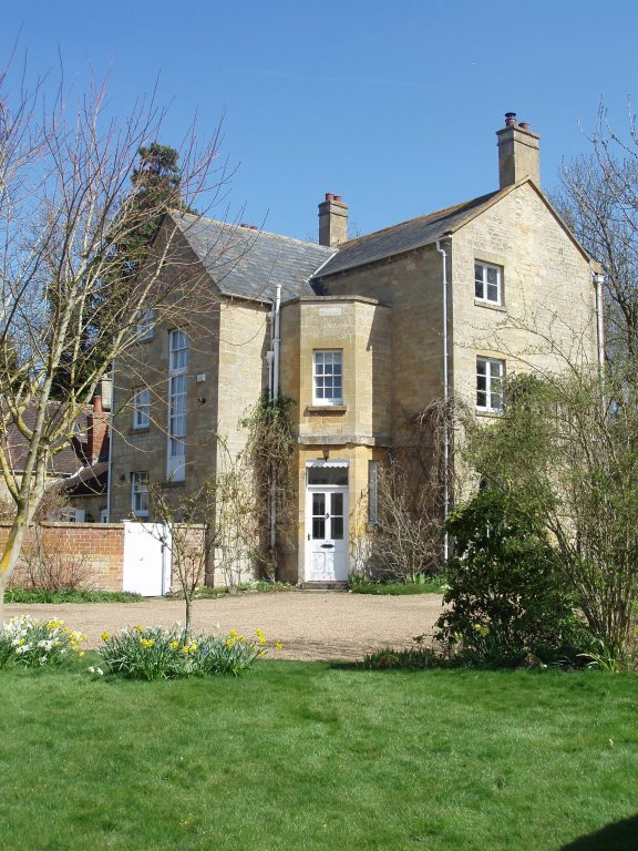 Front of Old Vicarage   Copyright Mickleton Community Archive