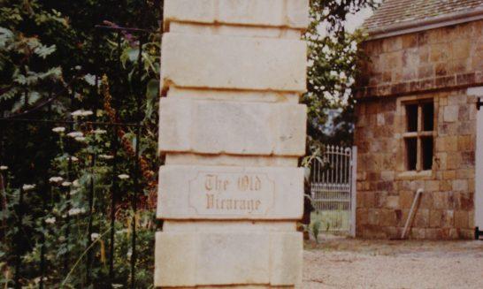 Old Vicarage, New Pillars