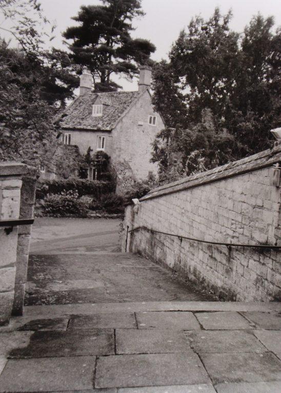 St Lawrence Church Steps and Blenheim Cottage | Mickleton Community Archive