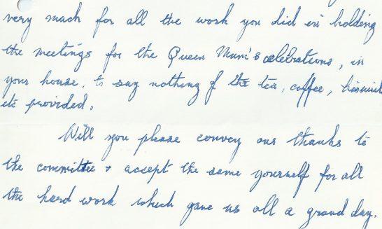 Letter of Appreciation,1990