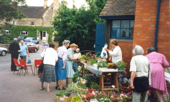Street Market in Chapel Lane
