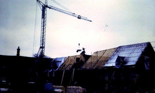 Building work at Greyrick