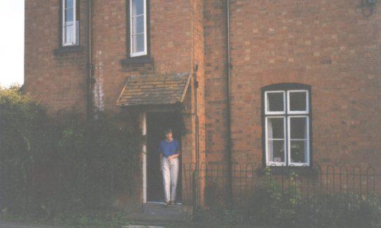 Cottages on the corner of Gloucester Lane at Tadpole.