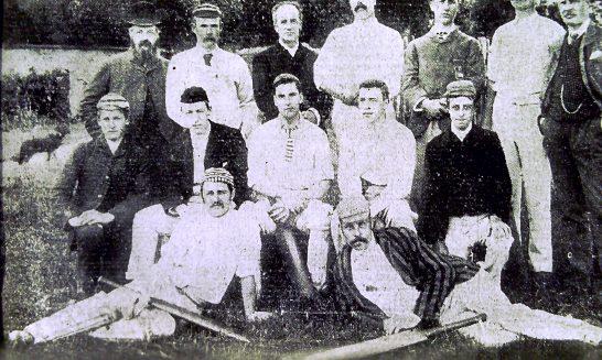 Cricket team, 1893