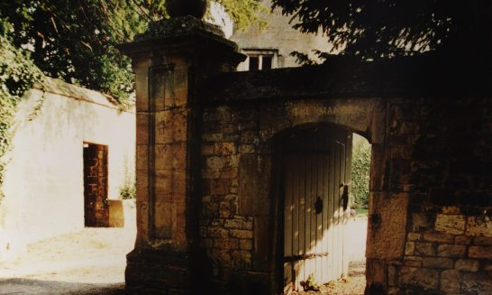 Gate at the Manor
