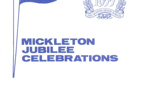 Programme for the Village Celebrations of the Queen's Silver Jubilee