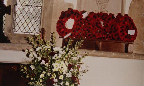 War Memorial, St Lawrence Church