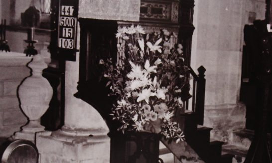 The Pulpit, St Lawrence's Church