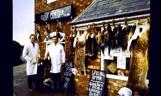Butcher's Shop: owned by Clive Porter, 1980