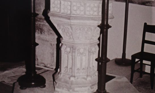 The Font, St Lawrence Church