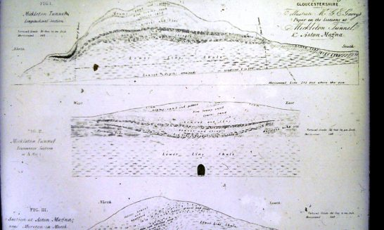 Mickleton Tunnel - geological drawings