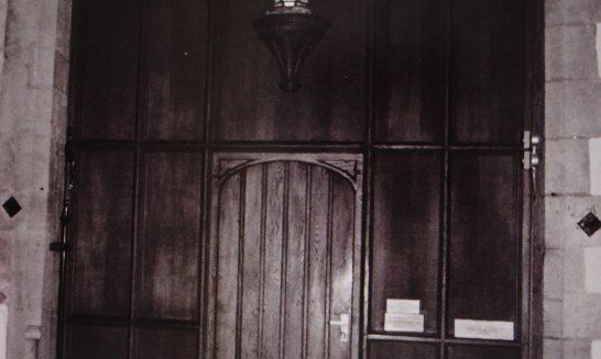 Vestry Door, St Lawrence Church