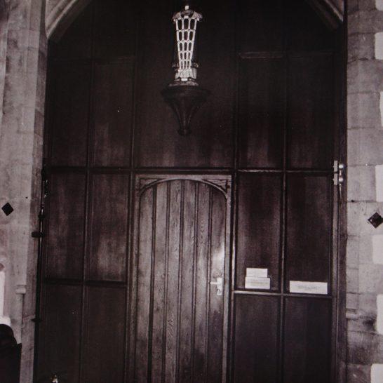 Vestry Door | Mickleton Community Archive