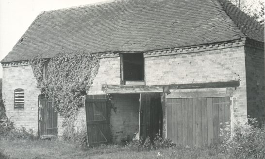 Barn in orchard - a history