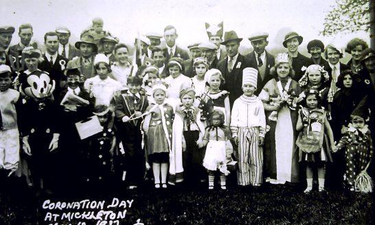 Fancy dress at Coronation Day celebrations, 1937
