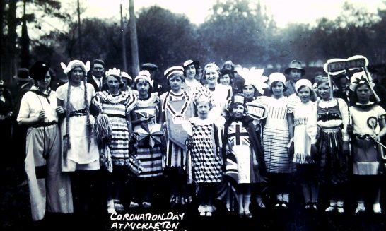 Fancy Dress at Coronation Day, 12 May 1937