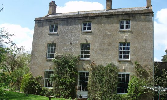 Old Vicarage: from the rear