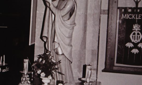Statue of Mary & Jesus, St Lawrence Church