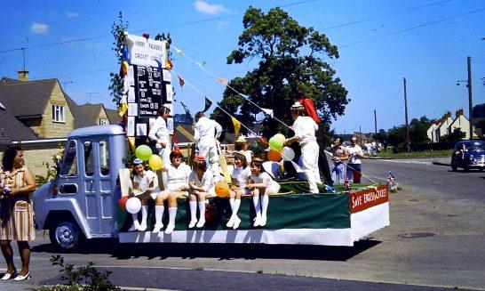Cricket Club Float at Carnival, 1997